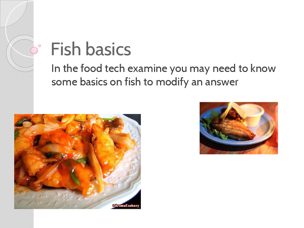 Preview of Fish food exam part 2