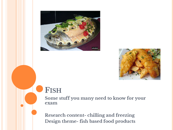 Preview of fish food tech exam