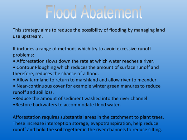 Preview of Flood Abatement, Proofing and Floodplain Zoning