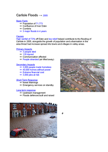 Preview of Flooding Case Studies