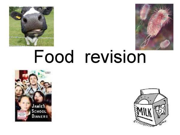 Preview of Food Technology GCSE design & making REVISION