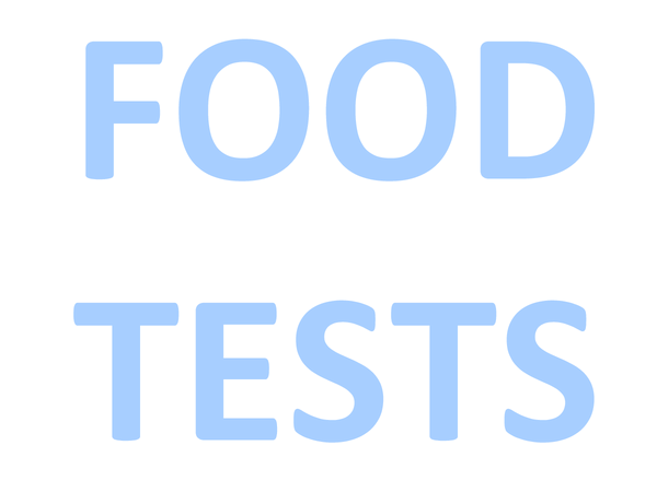 Preview of Food tests