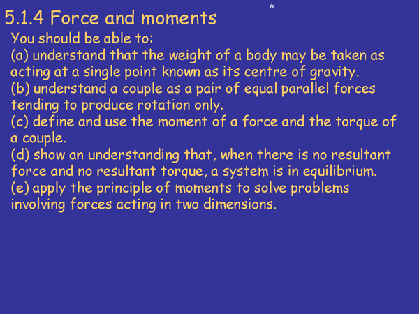 Preview of Force, Work and Power