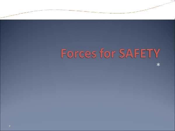Preview of Forces, crumple zones and safety