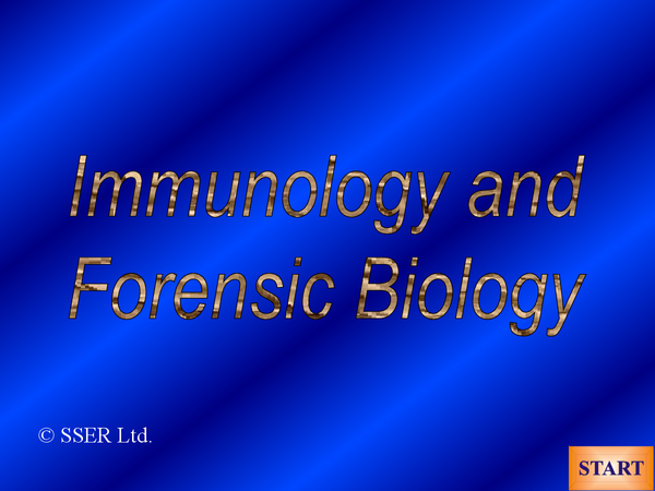 Preview of Forensic Biology Powerpoint