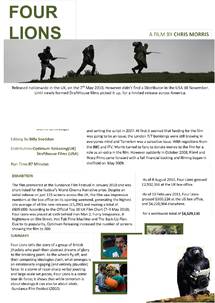 Preview of Four Lions Case Study