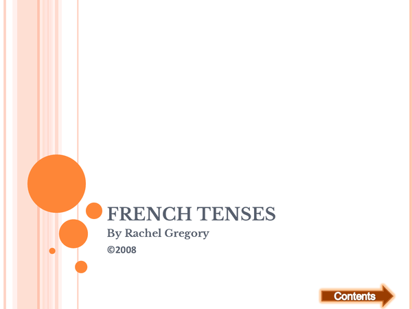 Preview of French Tenses