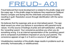 Preview of FREUDS EXPLANATION