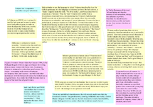 Preview of Full Wife of Bath and Volpone essay plans and notes