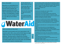 Preview of Full Case Study on WaterAid