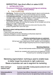 Preview of FULL MARKETING NOTES UNIT2