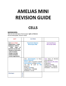 Preview of FULL REVISION GUIDE FOR AQA AS UNIT1
