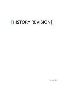 Preview of Full revision guide for OCR History B paper one (International relations from 1918-1939 and the USA)