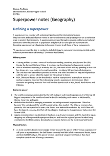 Preview of Full superpower notes