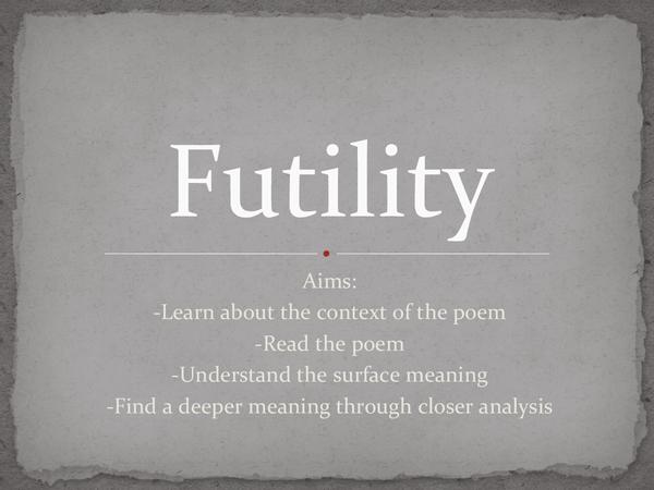 Preview of Futility Analysis