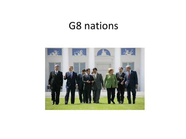 Preview of G8 nations