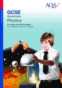 Preview of GCSE AQA Physics Specification