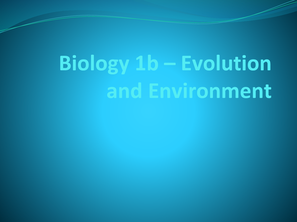 Preview of GCSE AQA Biology 1B