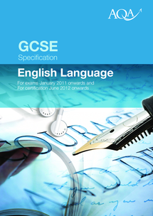 Preview of GCSE AQA ENGLISH LANGUAGE SPECIFICATION