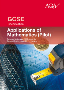 Preview of GCSE AQA MATHS APPLICATIONS SPECIFICATION