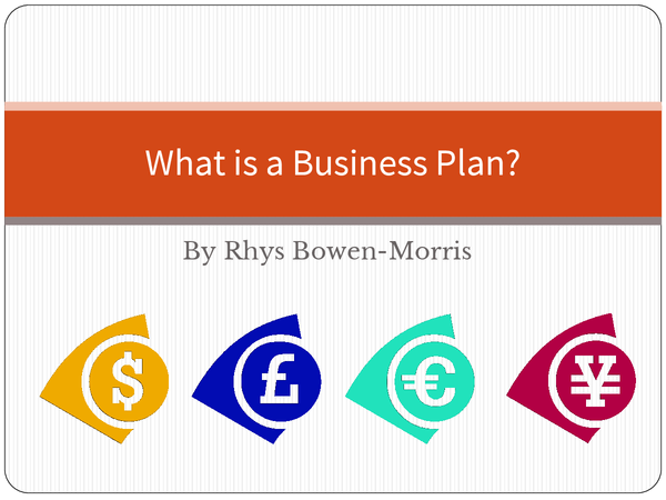 Preview of GCSE Business Studies - What is a Business Plan?