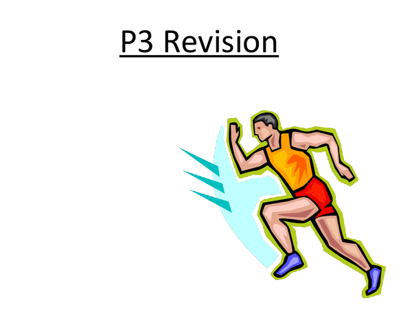 Preview of GCSE Edexcel Physics - P3