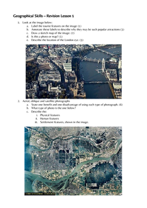 Preview of GCSE Geography Edexcel Unit 1 - Revision Lesson 1