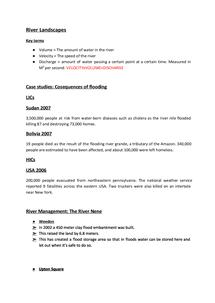 Preview of GCSE Geography Edexcel unit 2