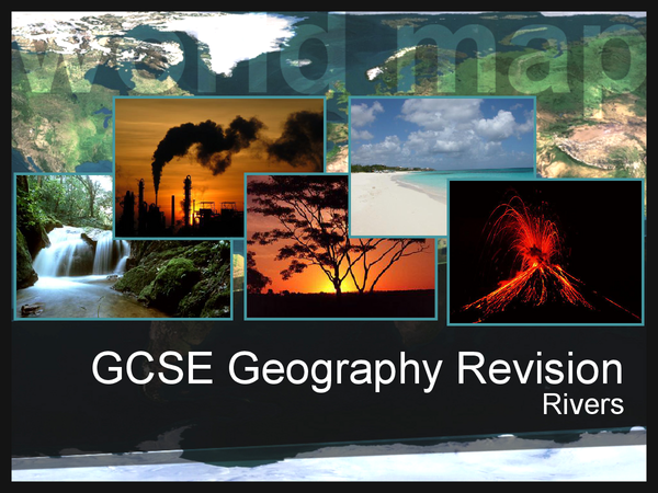 Preview of GCSE Geography: Rivers Revision Cards
