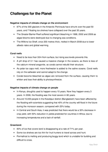 Preview of GCSE Geography Unit 1 Edexcel: Challenges for the Planet