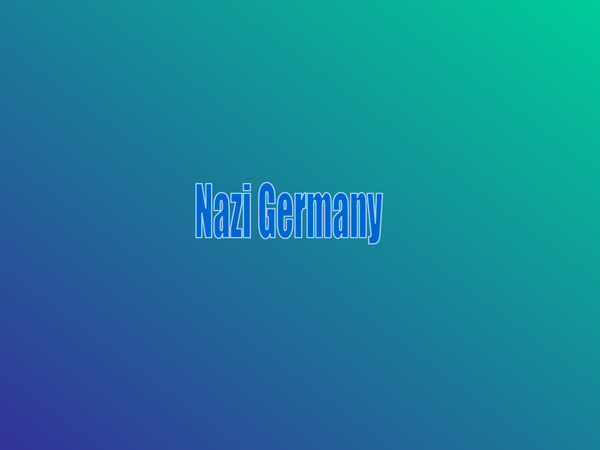 Preview of GCSE History - Nazi Germany