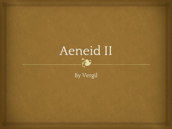 Preview of GCSE Latin Verse - Aeneid II