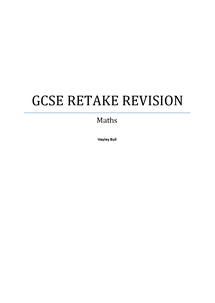 Preview of gcse maths