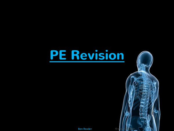 Preview of GCSE Physical Education Revision PowerPoint