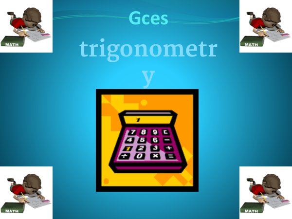 Preview of Gcse Trigonometry Pythagoras Theorem