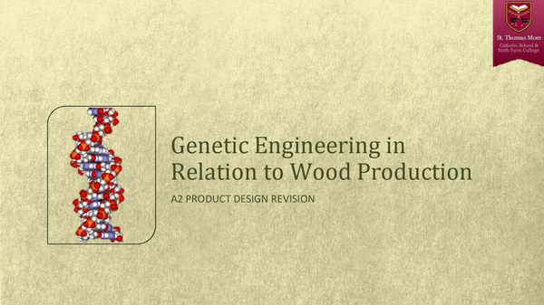 Preview of Genetic Engineering In Wood Production