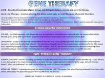 Preview of Genetic screening and therapy
