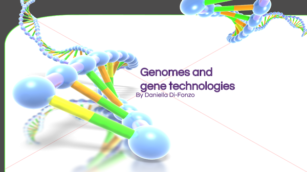 Preview of genomes and gene technology