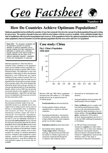 Preview of Geo Factsheet China