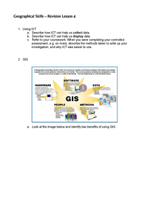 Preview of Geographical Skills - Revision Lesson 4