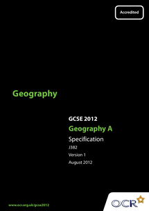 Preview of Geography GCSE specification