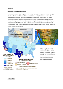 Preview of Geography Migration Mexico to USA information