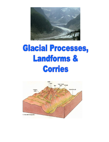 Preview of Geography revision booklet on geographical features