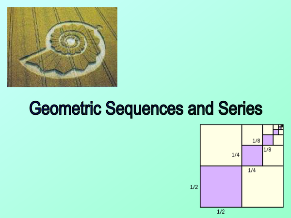 Preview of Geometric sequences and series C2 revision