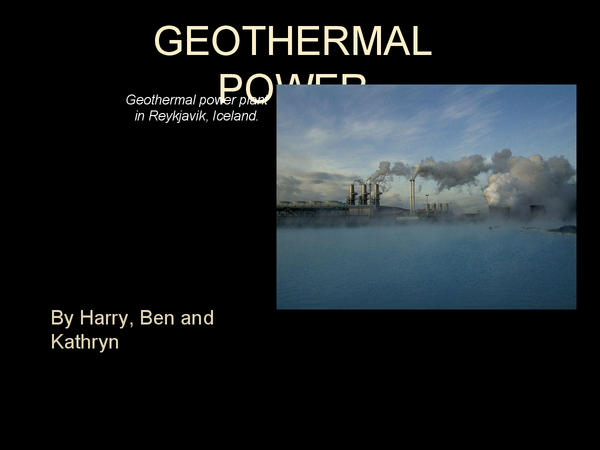 Preview of GEOTHERMAL POWER, PPP.