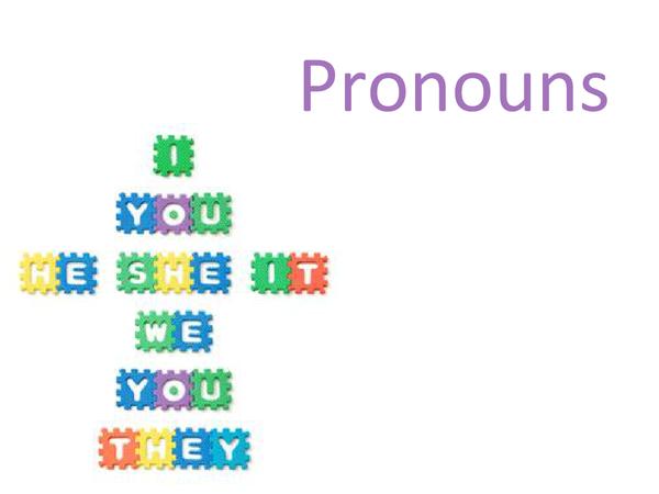 Preview of German pronouns presentation