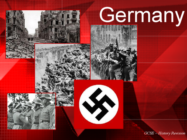 Preview of Germany: GCSE History Revision Cards