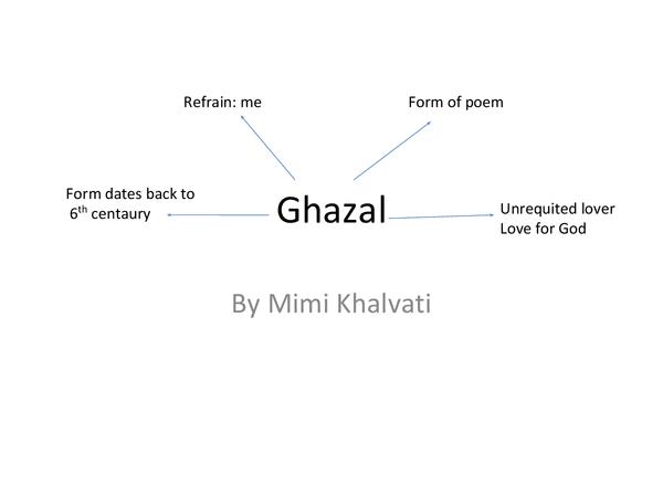 Preview of Ghazal Poem