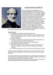 Preview of Giuseppe Mazzini