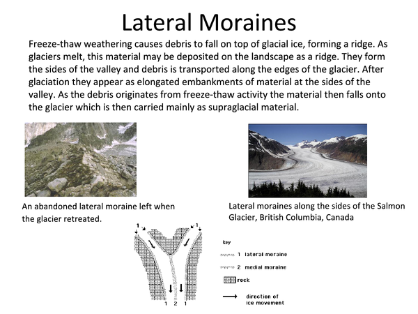 Preview of Glaciers - Depositional Landforms